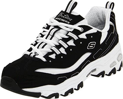 Skechers Sport Women's D'Lites Original Non-Memory Foam Lace-Up Sneaker Review