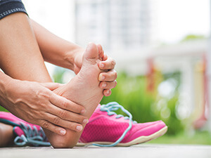 Painful Foot While Exercising