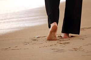 Walking on Sand