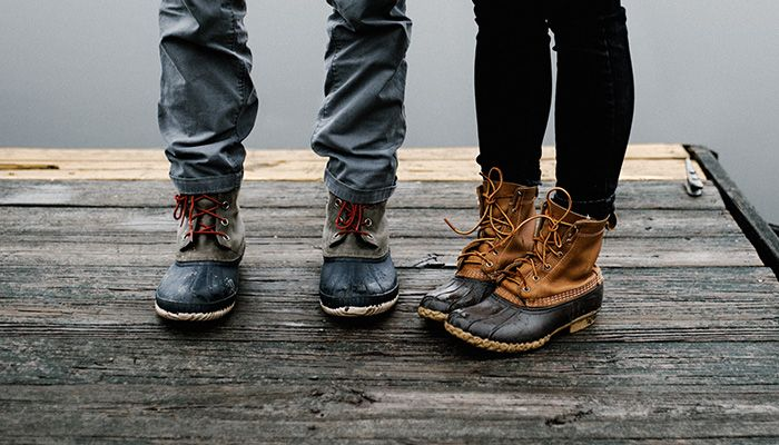 How to Tie Bean Boots?